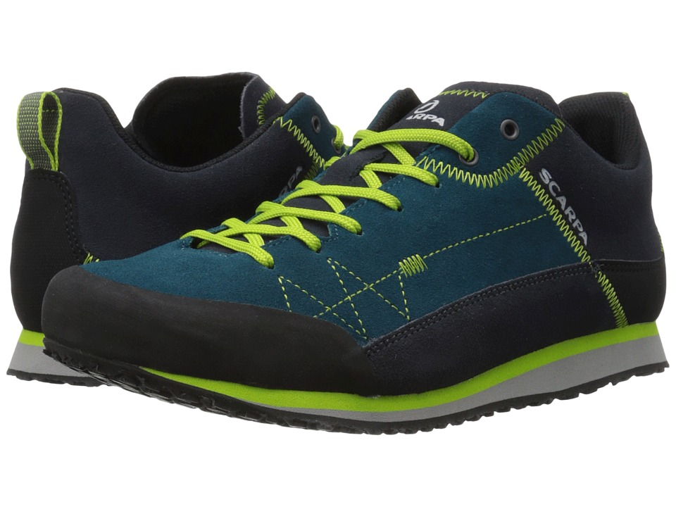 Scarpa Cosmo Lake Blue/Green Glow Mens Shoes