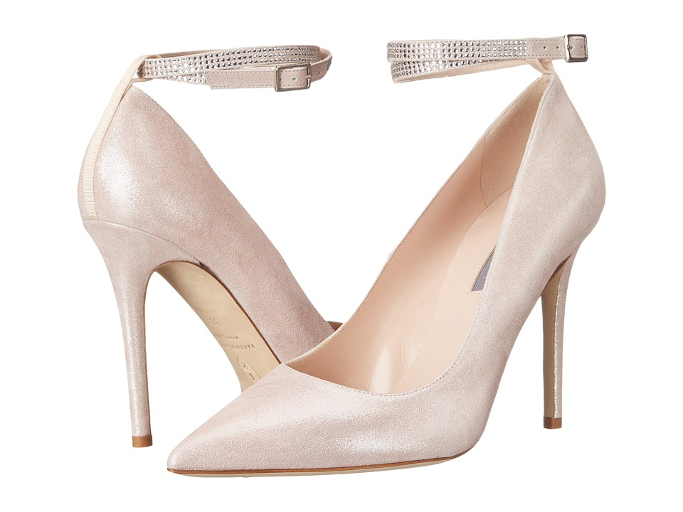 SJP by Sarah Jessica Parker Aventura Ula Pink Suede Womens Shoes
