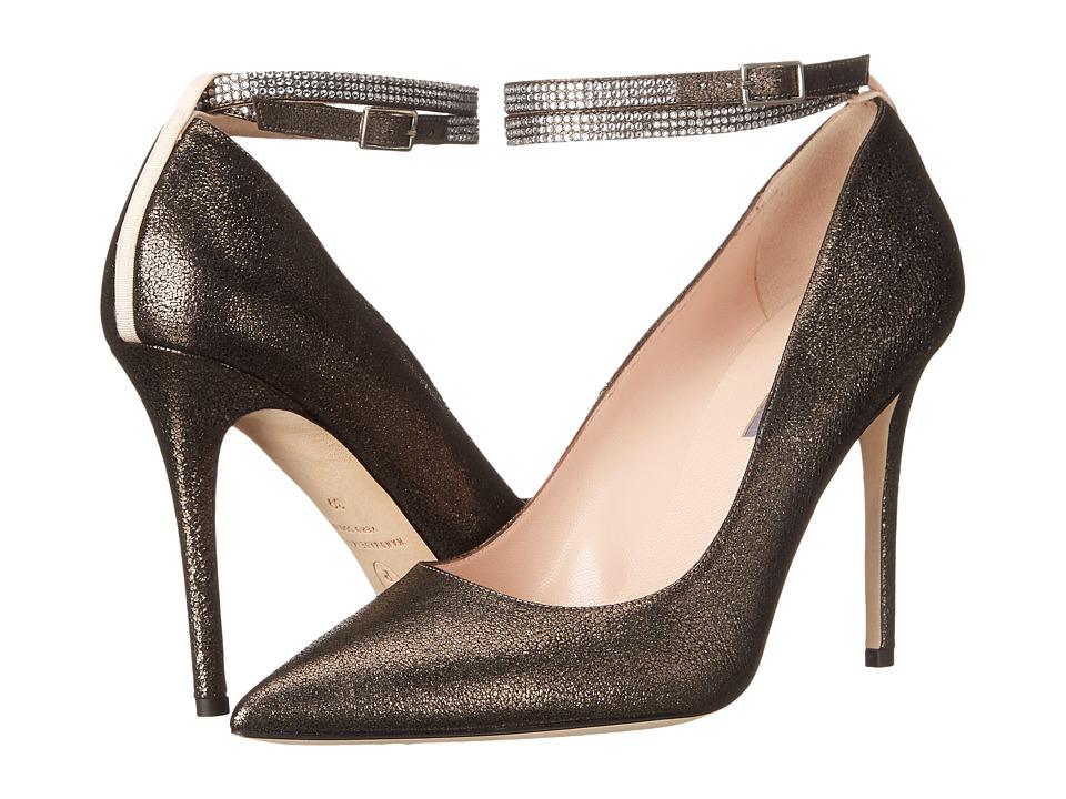 SJP by Sarah Jessica Parker Aventura Graphite Suede Womens Shoes