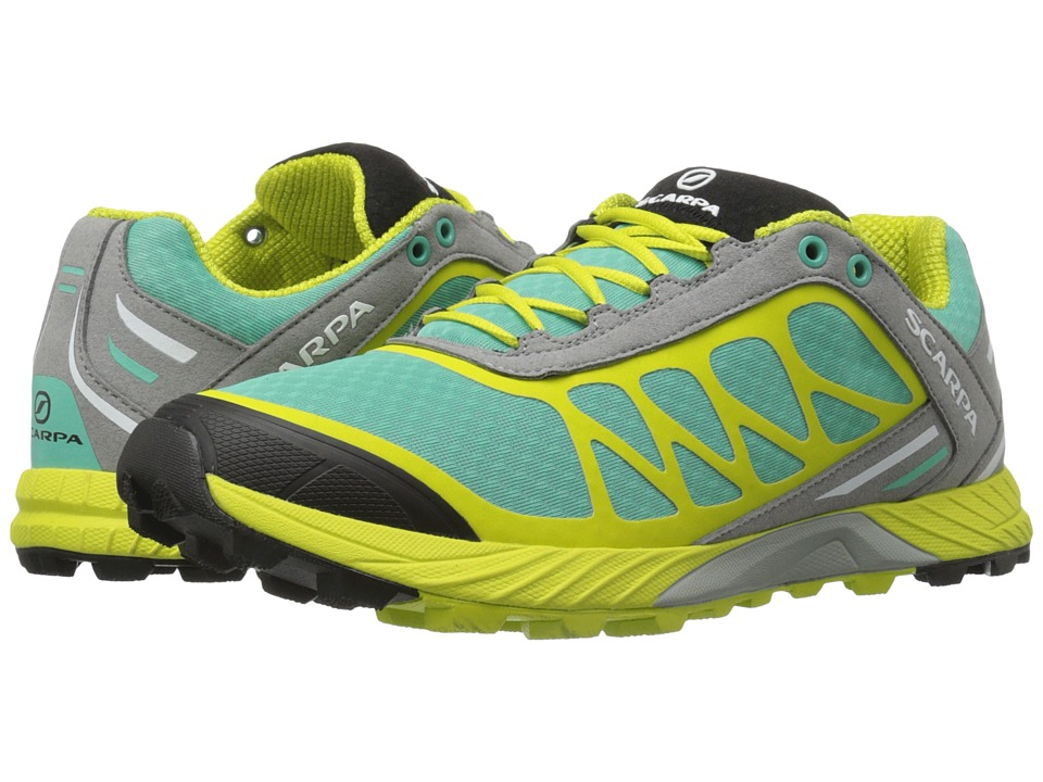 Scarpa Atom Lagoon/Lime Womens Shoes