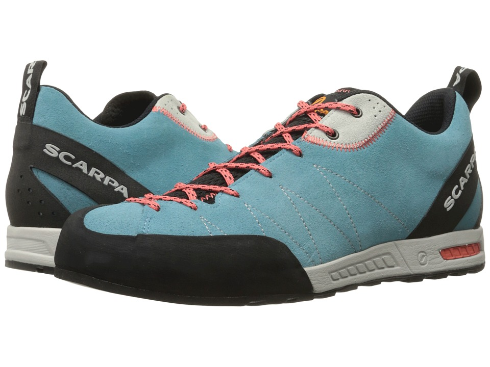 Scarpa Gecko (Ice Fall/Coral Red) Women's Shoes