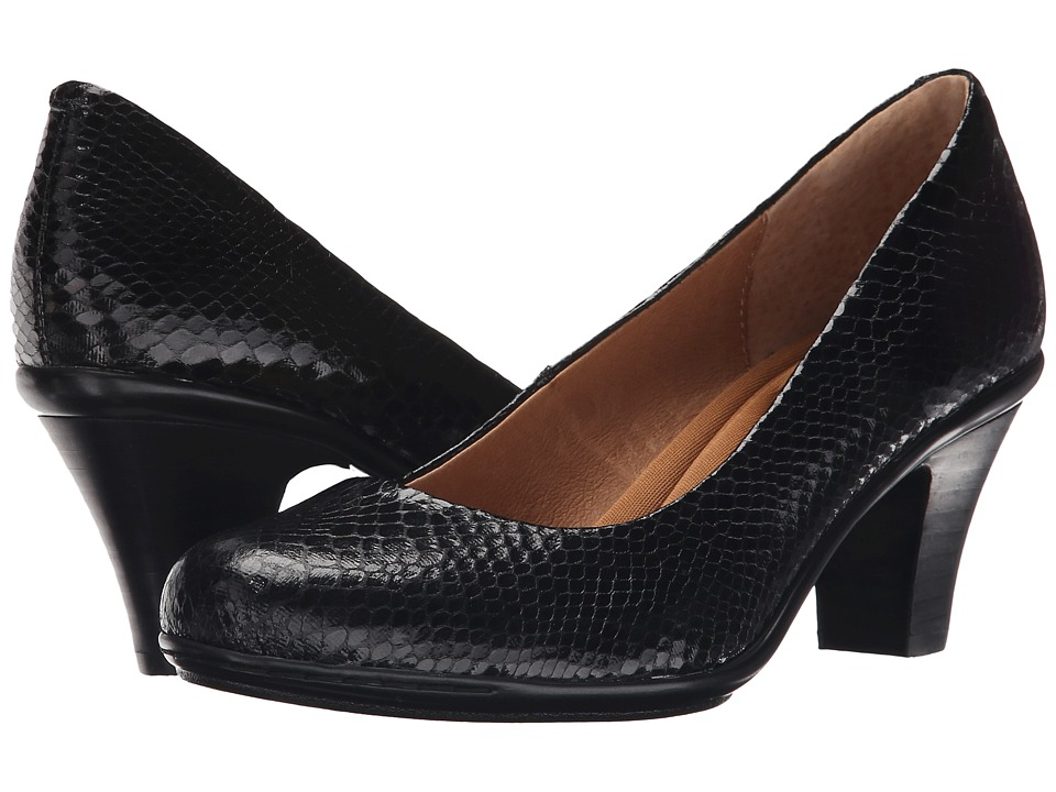 Sofft Velma (Black Snake Print) High Heels