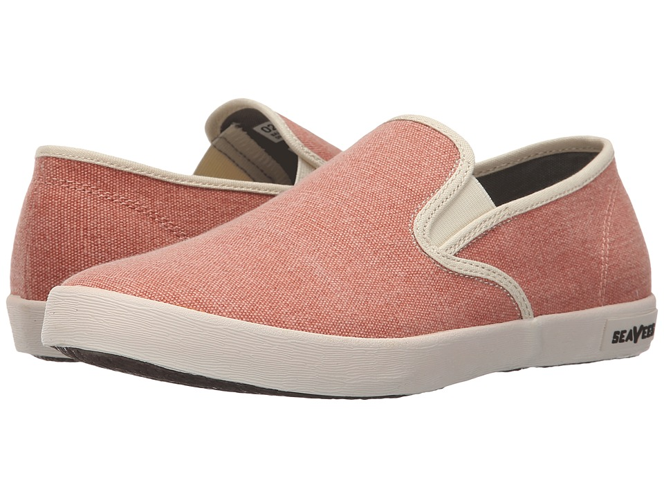 SeaVees 02/64 Baja Slip On Fiesta Dark Coral Womens Shoes
