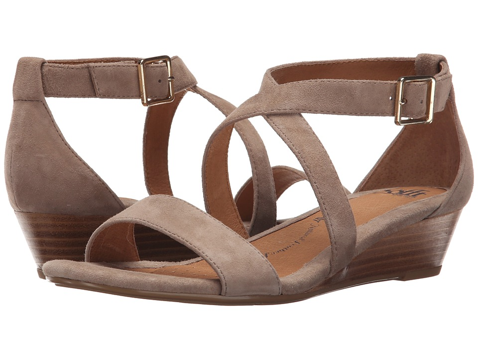 Sofft Innis (Baywater King Suede) Wedges