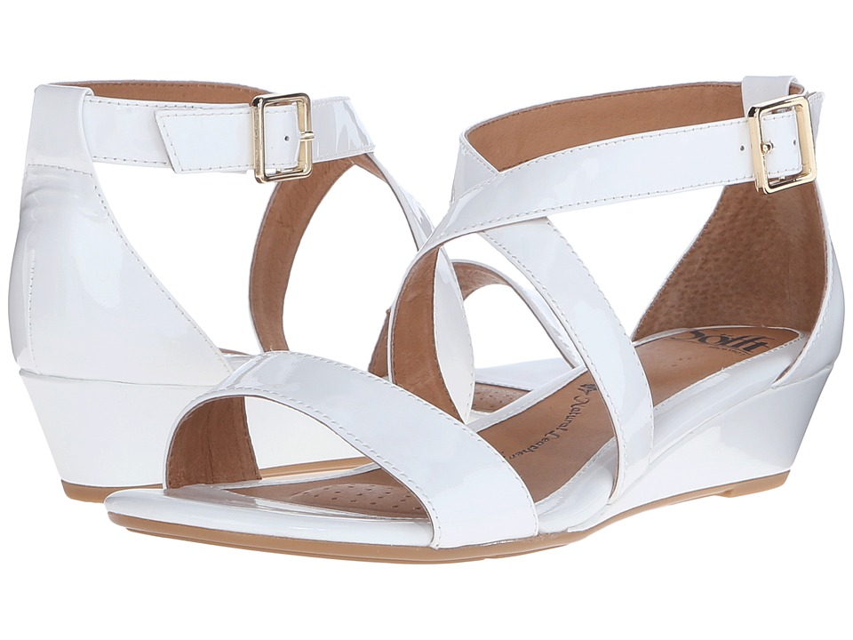 Sofft - Innis (White Patent) Women