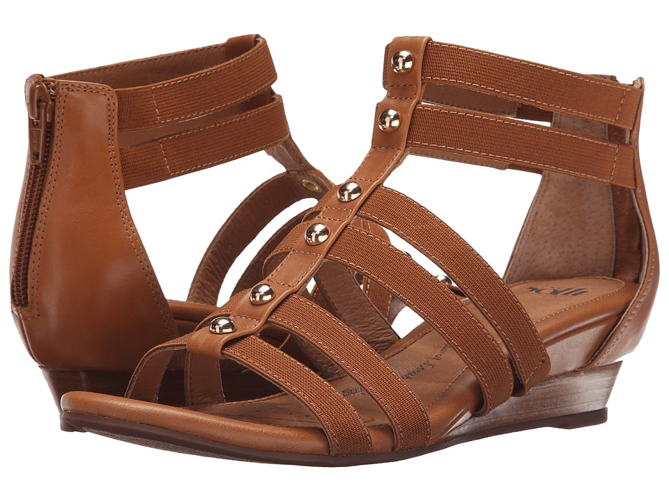 Sofft Rasida Luggage Lucky Calf Milled Womens Wedge Shoes