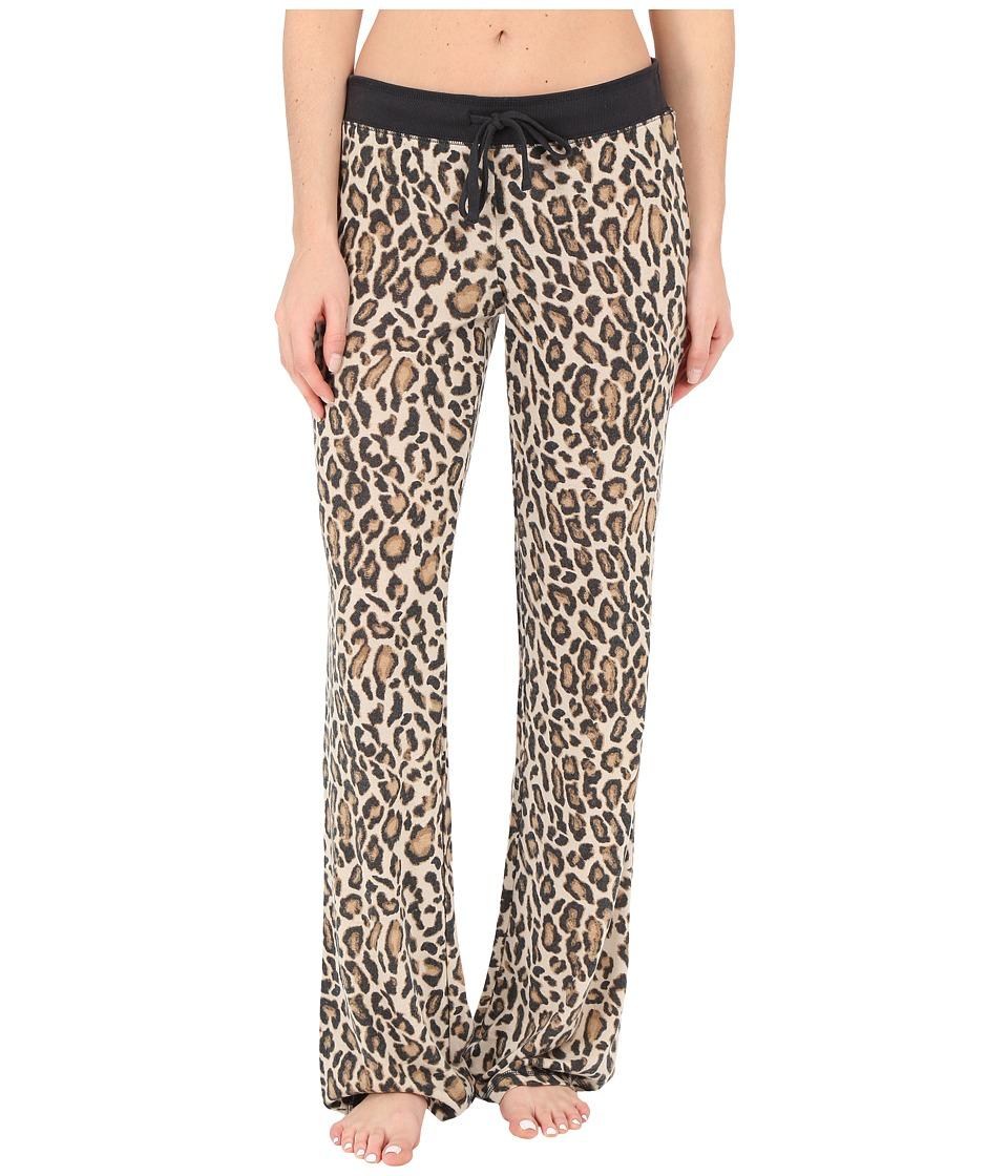 P.J. Salvage Purrty Leo Sleep Pants Natural Womens Pajama