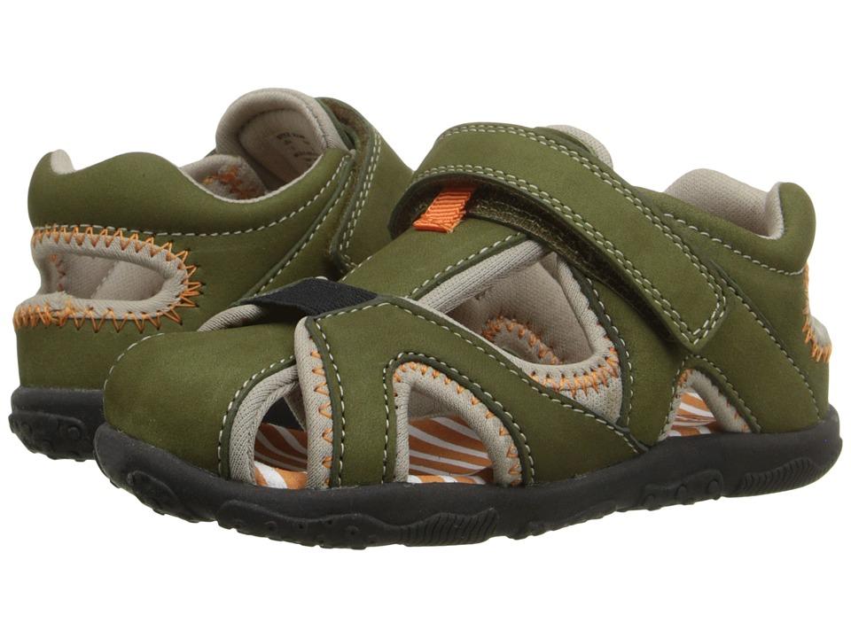 Umi Kids Nolan Toddler Olive Multi Boys Shoes