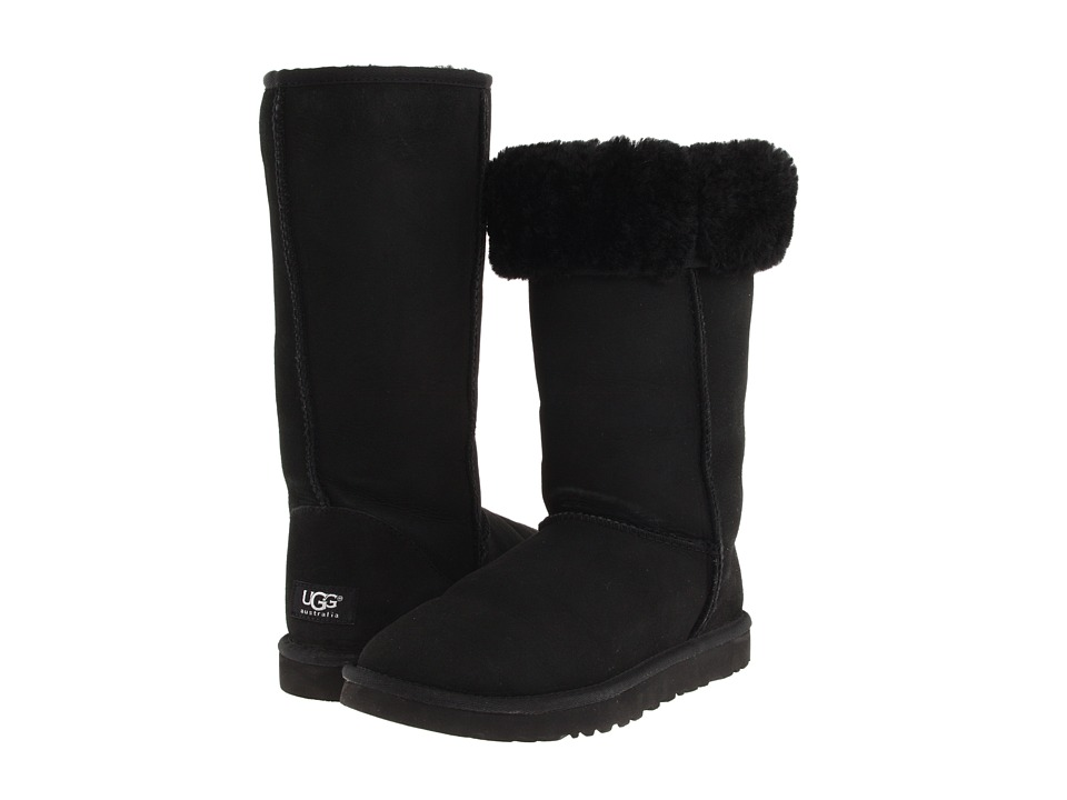 UGG Classic Tall (Black) Women's Boots