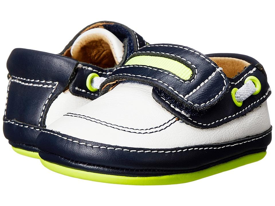 Umi Kids Gene Infant/Toddler White/Navy Girls Shoes