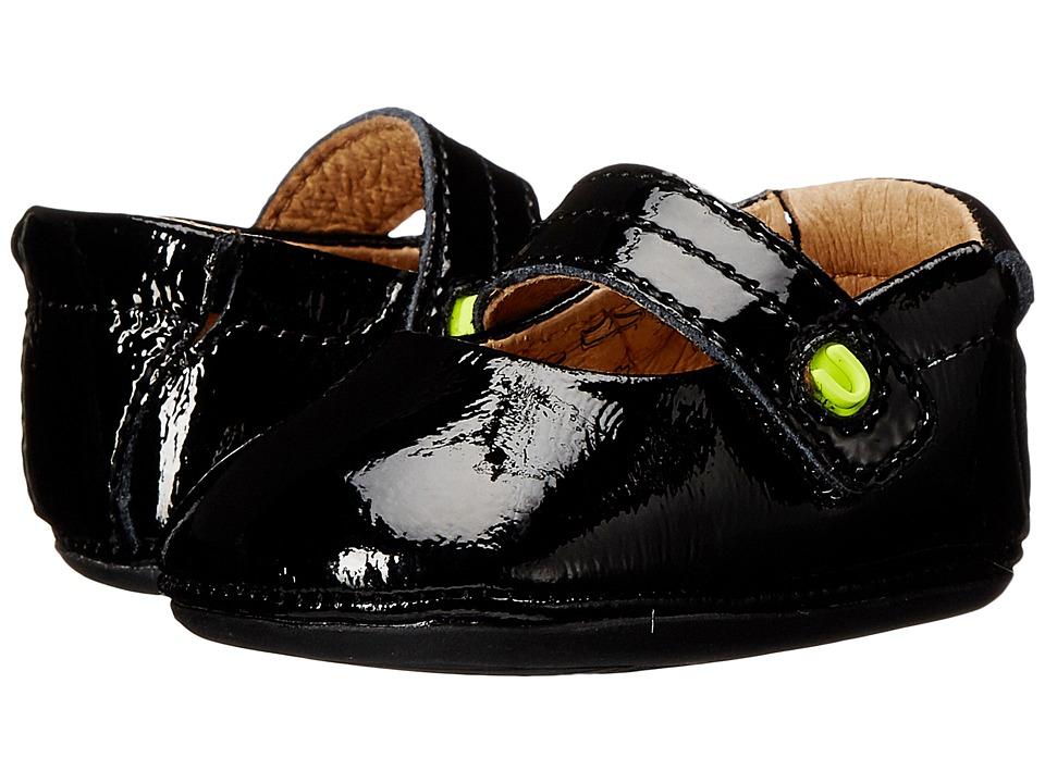 Umi Kids Fana Infant/Toddler Black Patent Girls Shoes