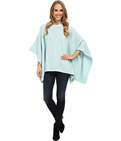 TWO by Vince Camuto - Hooded Waffle Stitch Poncho