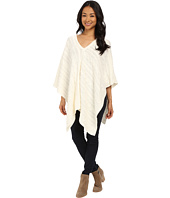 TWO by Vince Camuto - Directional Cable Stitch Poncho