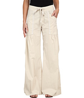 XCVI - Willowy Wide Leg Stretch Poplin Pant