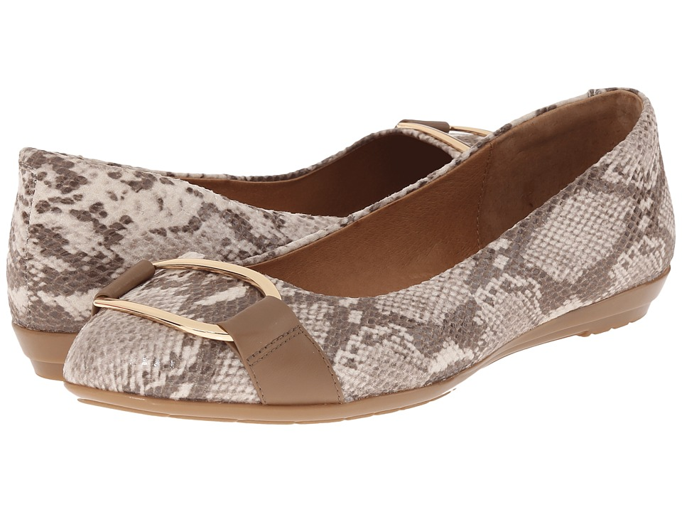 Sofft Benton Sand Viper Desert Snake Print Womens Slip on Shoes