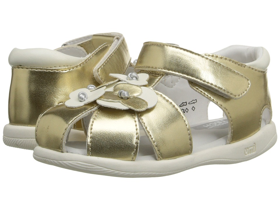 Umi Kids Adeline Toddler Gold Girls Shoes