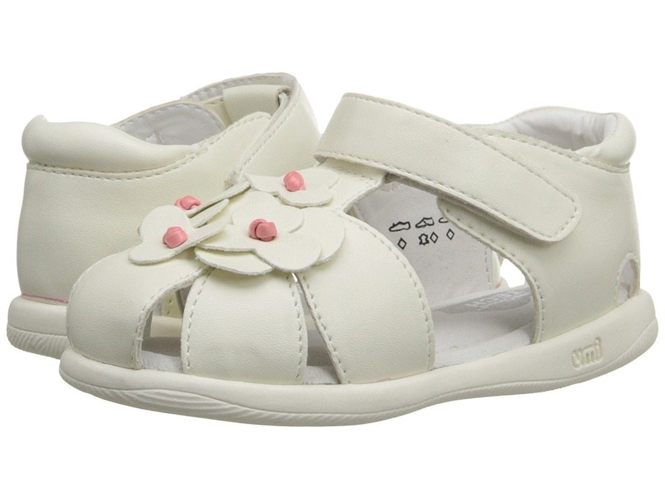 Umi Kids Adeline Toddler White 1 Girls Shoes