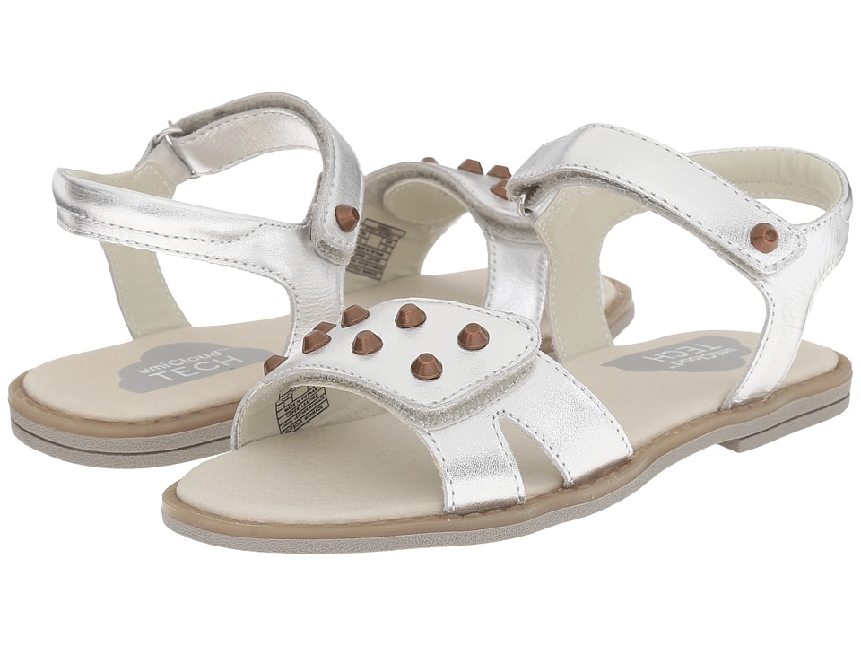 Umi Kids Alvina II Little Kid Silver Girls Shoes