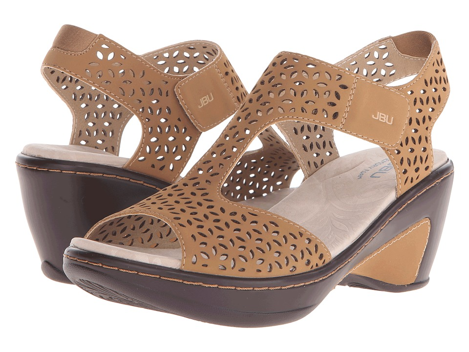 JBU Chloe Sand Womens Wedge Shoes