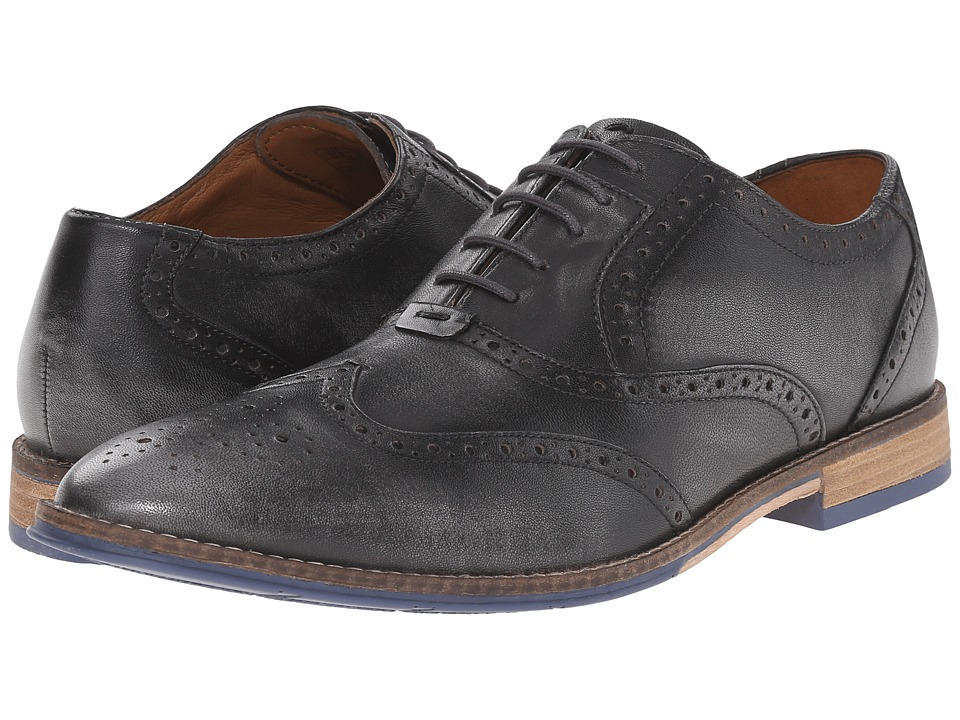 Hush Puppies - Style Brogue (Grey Smooth Leather) Men
