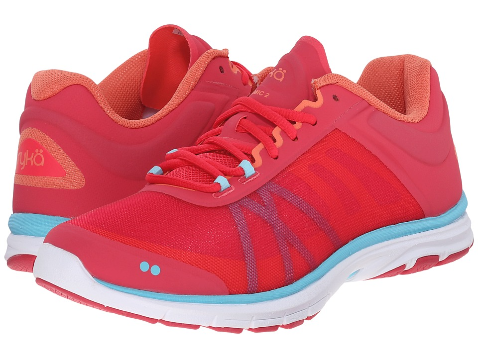 Ryka Dynamic 2 Azalea/Hot Pink/Fusion Coral/Winter Blue/Ivan the Grey Womens Shoes