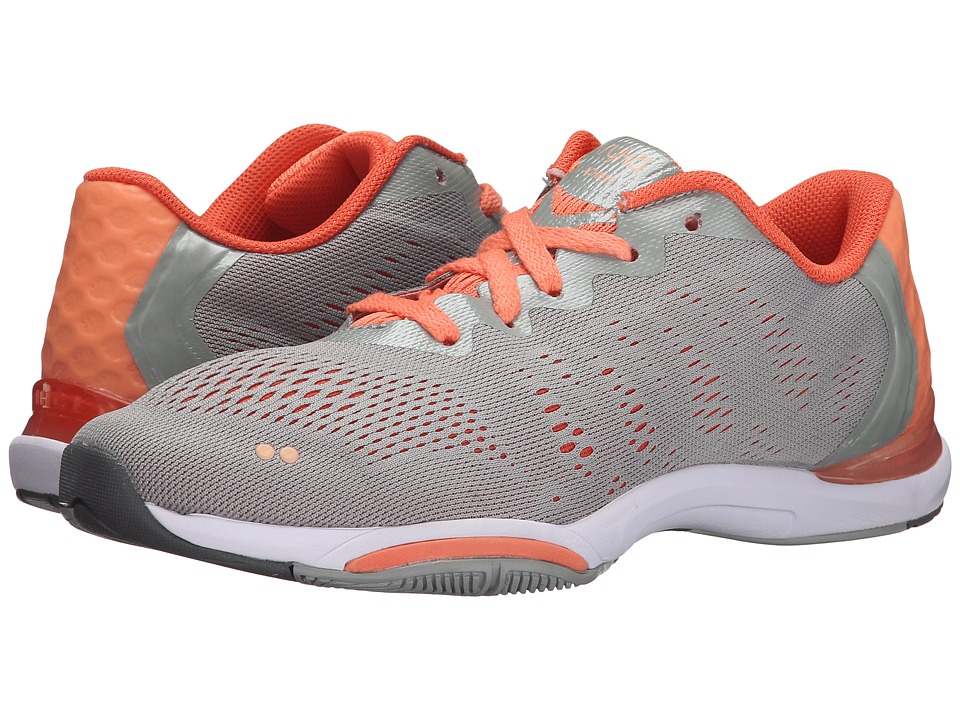 Ryka Achieve Ivan the Grey/Fusion Coral/Peach Nectar/Steel Grey Womens Shoes