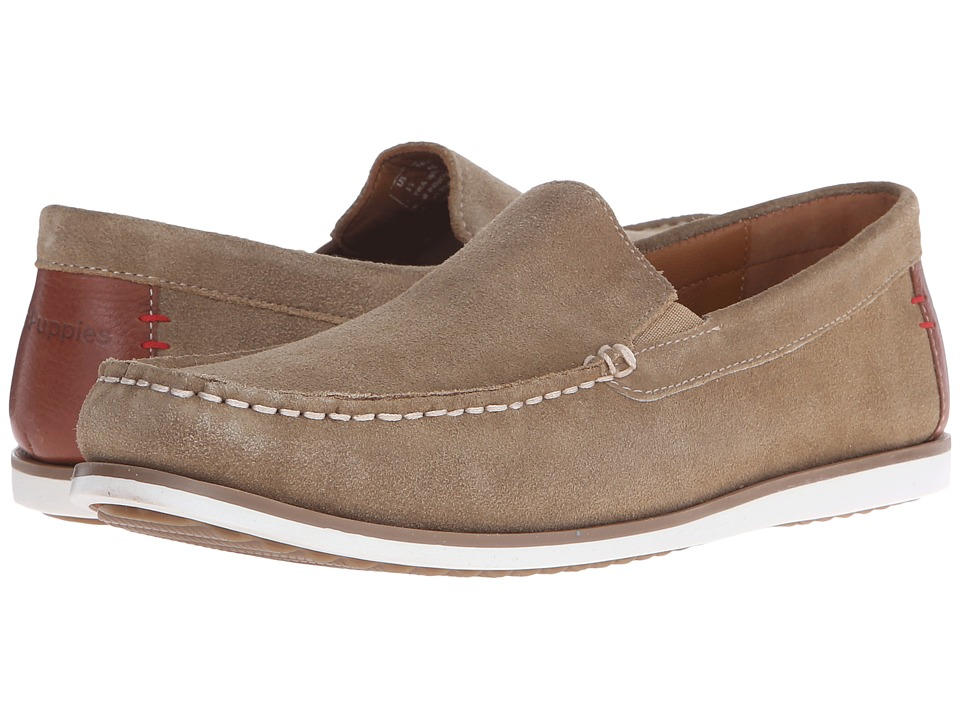 Hush Puppies - Bob Portland (Taupe Suede) Men