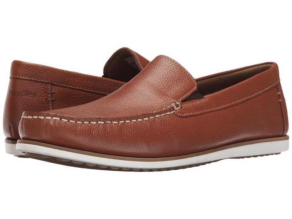 Hush Puppies - Bob Portland (Tan Leather) Men