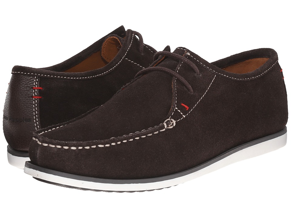 Hush Puppies - Briggs Portland (Dark Brown Suede) Men