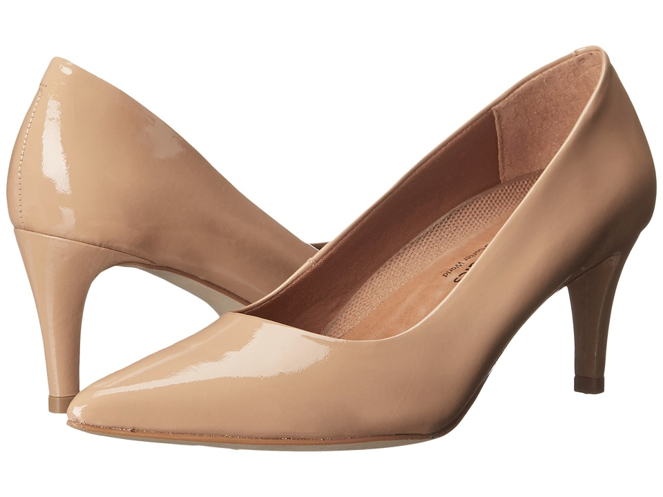 Walking Cradles - Sophia (New Nude Patent) High Heels