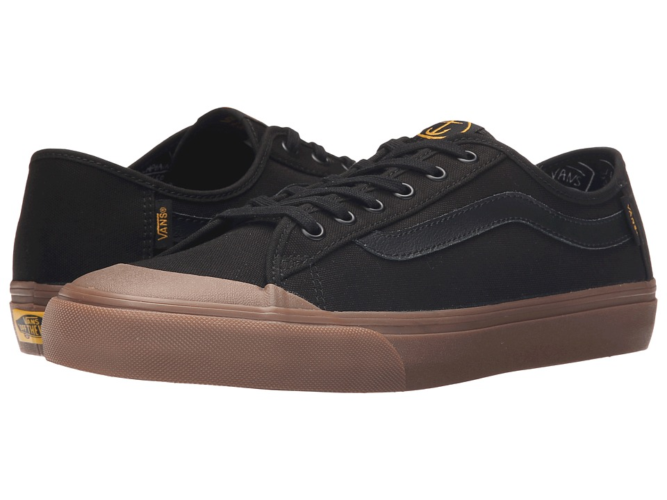 Vans - Black Ball SF ((Captain Fin) Black/Gum) Men