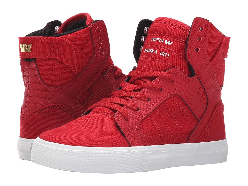 Supra Kids Skytop Little Kid/Big Kid Cardinal Boys Shoes
