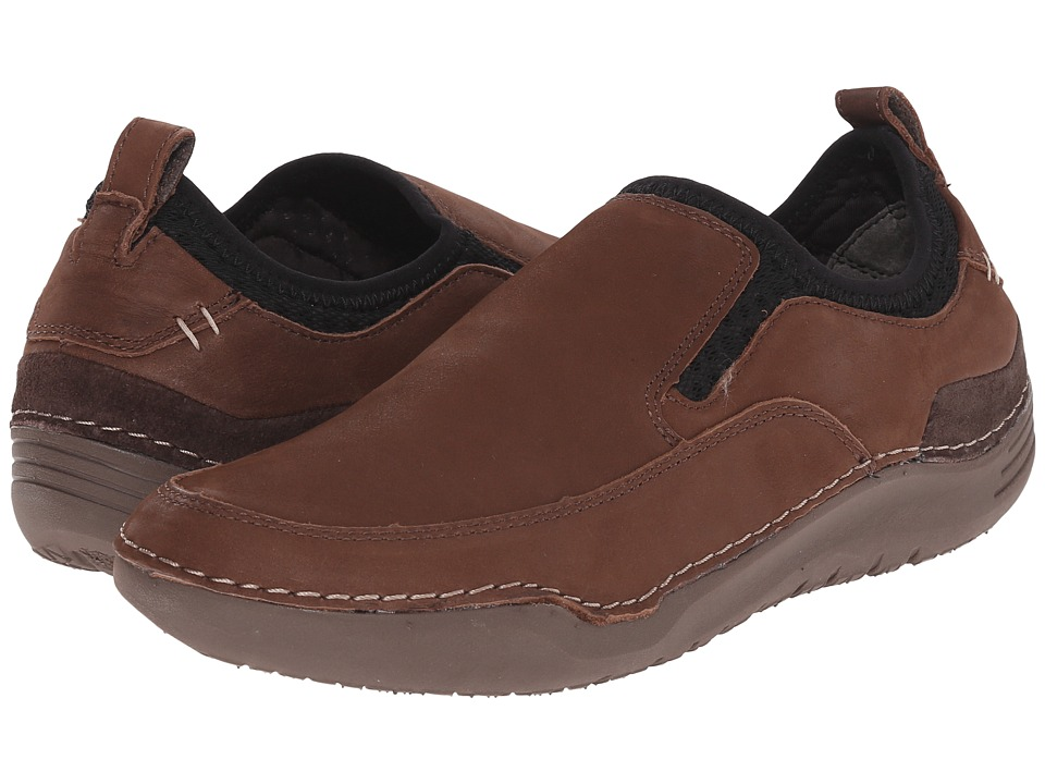 Hush Puppies - Crofton Method (Brown Leather) Men