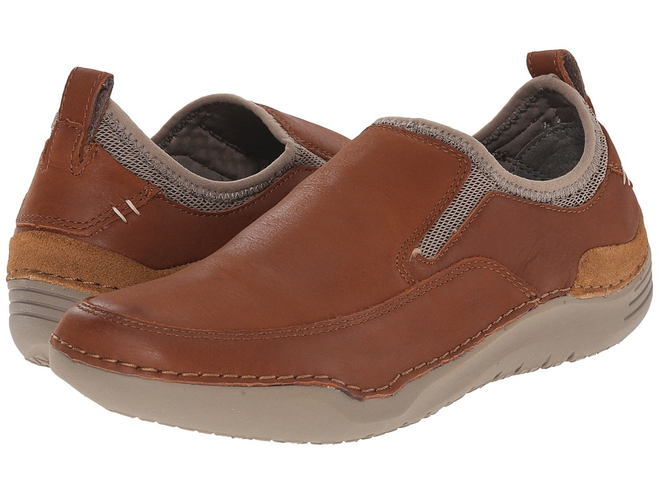 Hush Puppies - Crofton Method (Tan Leather) Men