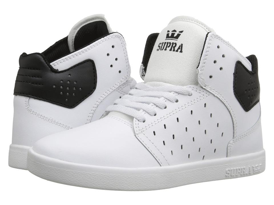 Supra Kids Atom Little Kid/Big Kid White/Black Boys Shoes