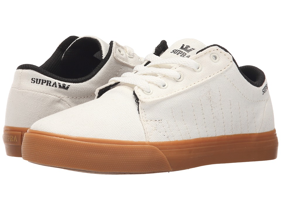 Supra Kids Belmont Little Kid/Big Kid Off White Boys Shoes