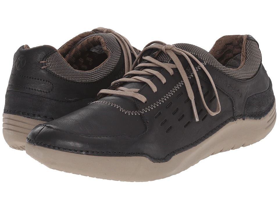 Hush Puppies - Hinton Method (Black Leather) Men