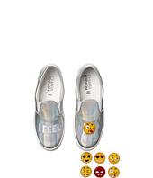Chiara Ferragni - Metallic Emoji Slip-On Sneaker