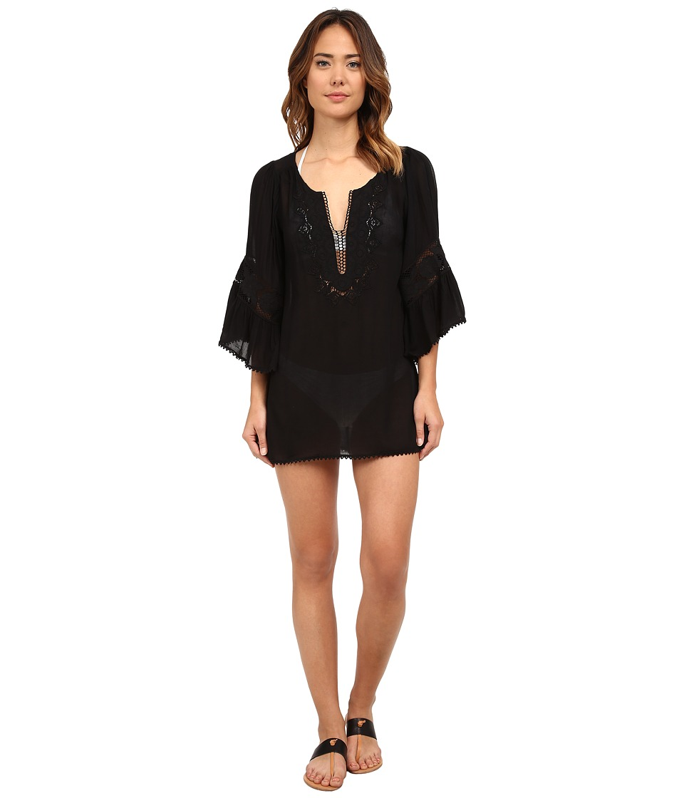 LSpace Breakaway Cover Up Black Womens Swimwear