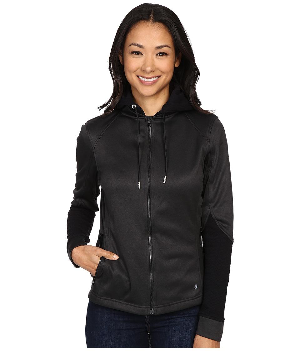 Spyder - Escynt Fleece Jacket (Black/Black/Black) Women