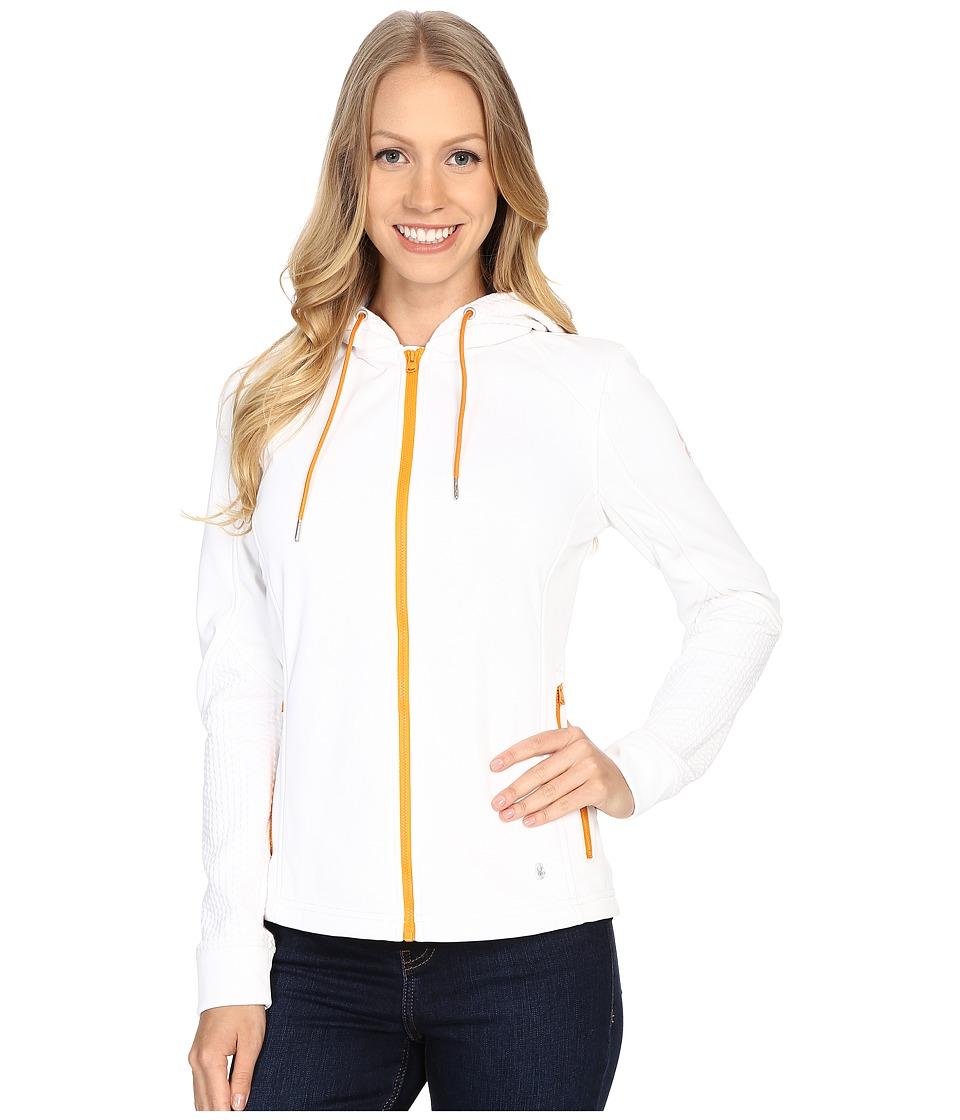 Spyder - Escynt Fleece Jacket (White/White/Edge) Women