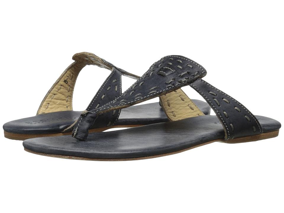Bed Stu Mira Black Driftwood Womens Shoes