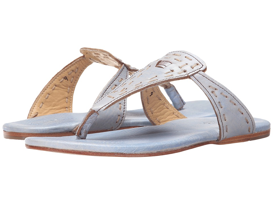 Bed Stu Mira Blue Lux Womens Shoes