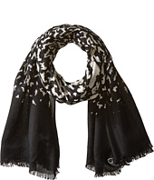 Calvin Klein - Ombre Leopard Crepe Wrap