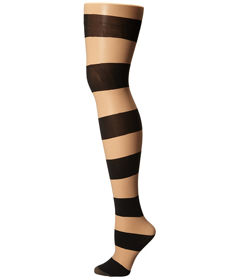 Alice + Olivia Horizontal Stripe Tights
