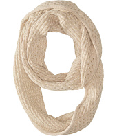 Calvin Klein - Brick Stitch Metallic Infinity Scarf
