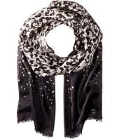 Calvin Klein - Cascade Leopard Silk Scarf