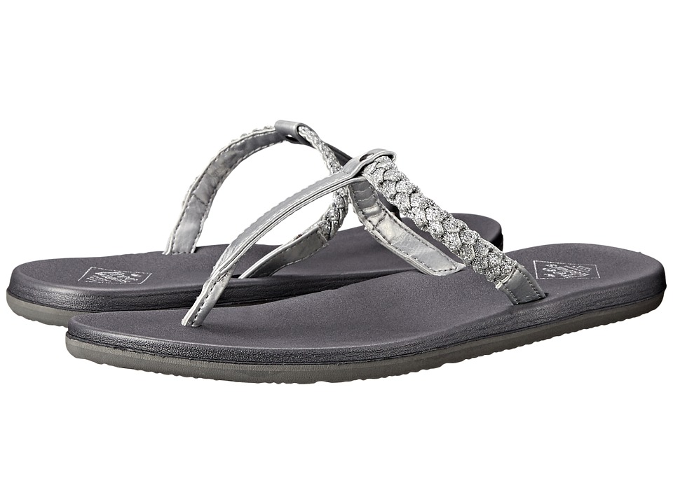 Freewaters Heidi Silver Metallic Womens Shoes