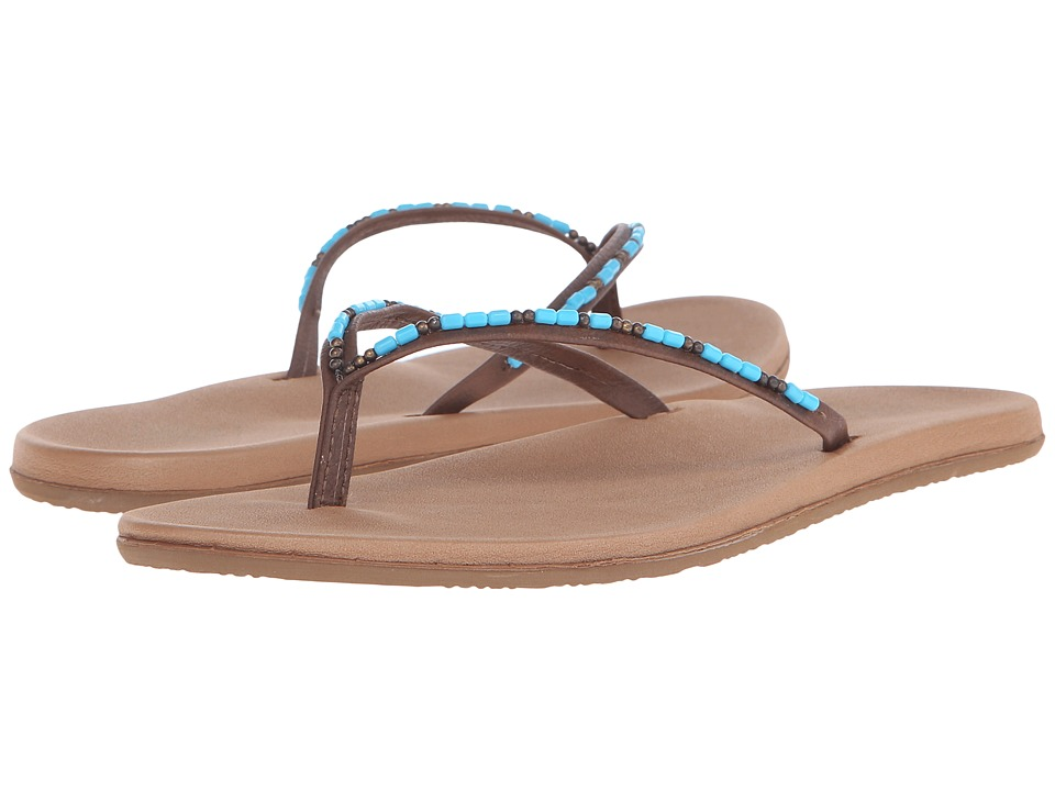Freewaters Jayde Tan/Blue Womens Shoes