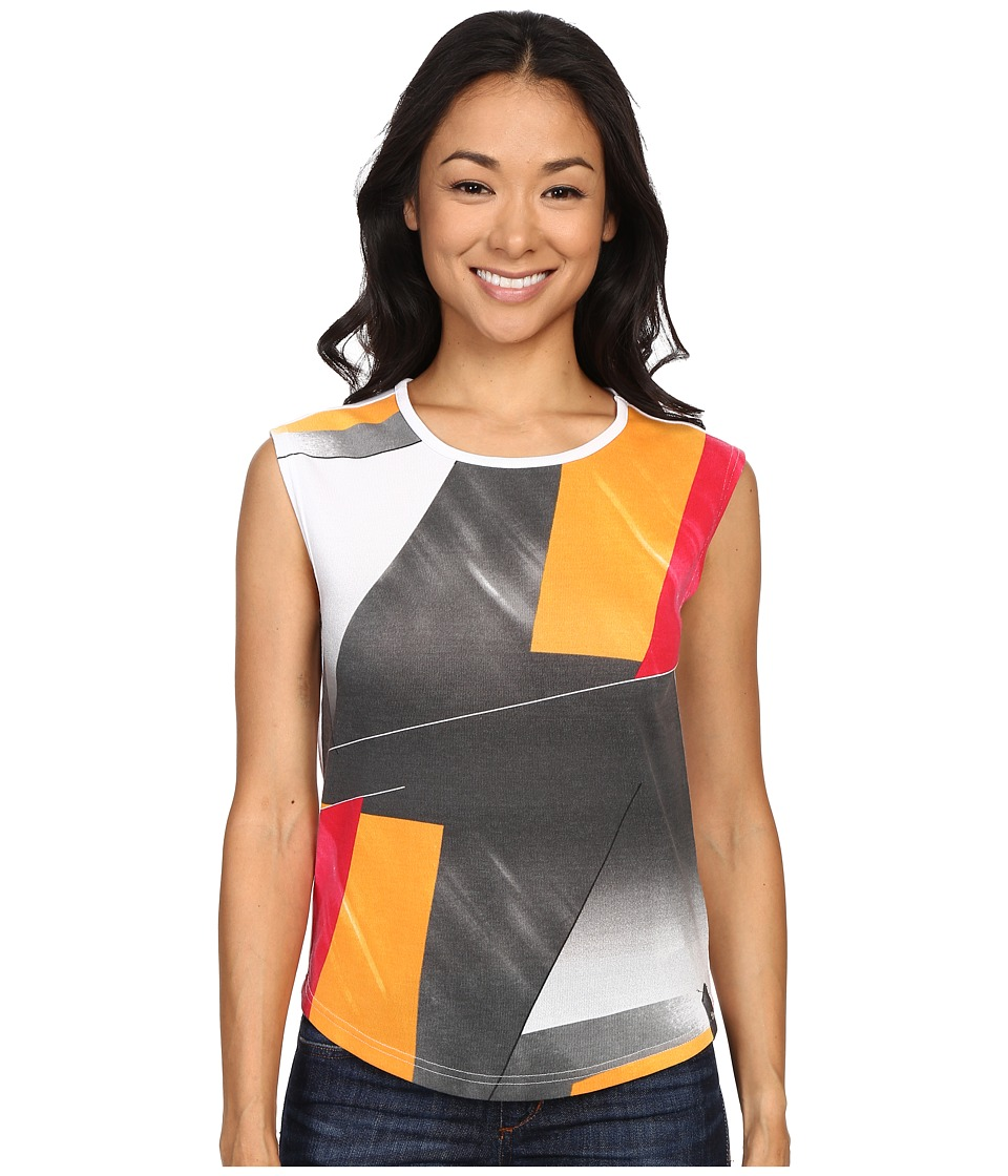 Spyder Choyce Top Multi Color Shield Print Womens Sleeveless